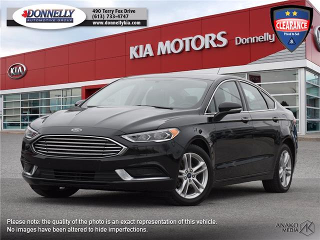 2018 Ford Fusion SE (Stk: KU2529) in Ottawa - Image 1 of 27