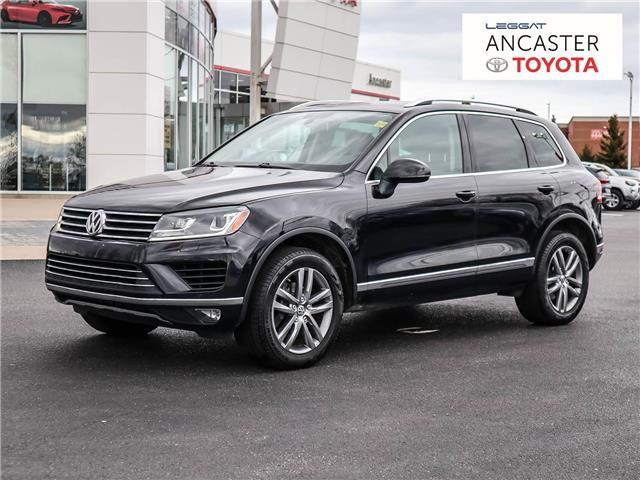 2016 Volkswagen Touareg  (Stk: 21414A) in Ancaster - Image 1 of 7