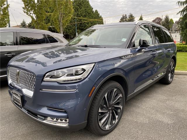 2021 Lincoln Aviator Reserve (Stk: 216337) in Vancouver - Image 1 of 10