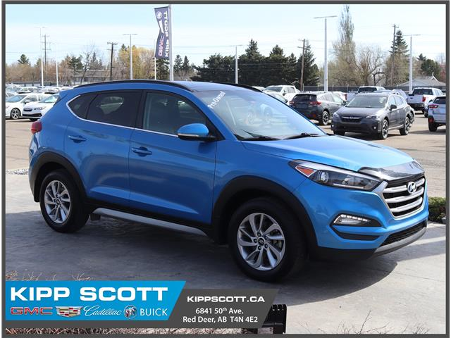 2017 Hyundai Tucson Luxury KM8J3CA43HU342721 42721W in Red Deer