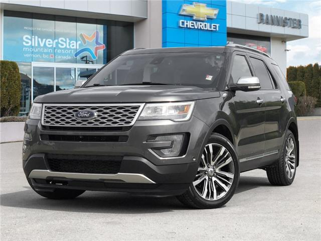 2017 Ford Explorer Platinum (Stk: 21232A) in Vernon - Image 1 of 25