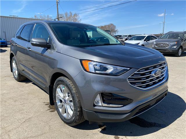 2021 Ford Edge Titanium (Stk: 21134) in Wilkie - Image 1 of 24