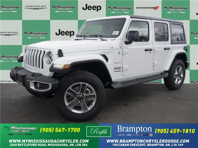 2021 Jeep Wrangler Unlimited Sahara (Stk: 21386) in Mississauga - Image 1 of 6
