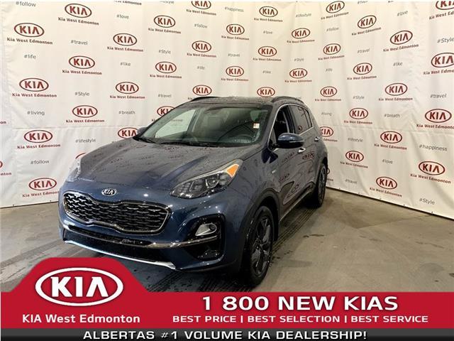 2022 Kia Sportage EX Premium S (Stk: 22989) in Edmonton - Image 1 of 28