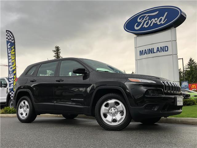 2016 Jeep Cherokee Sport (Stk: 21F15084AAA) in Vancouver - Image 1 of 30