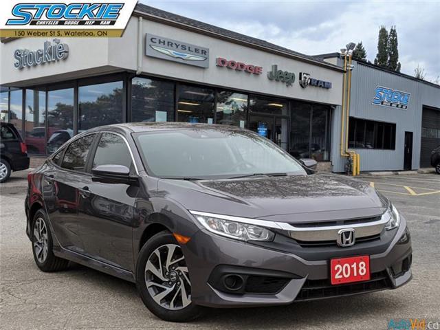 2018 Honda Civic EX (Stk: 36375) in Waterloo - Image 1 of 26