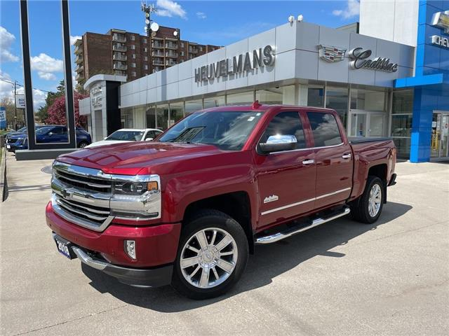 2018 Chevrolet Silverado 1500 High Country (Stk: M306A) in Chatham - Image 1 of 19