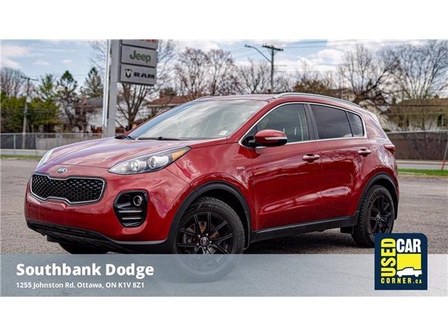 2018 Kia Sportage EX (Stk: 2102981) in Ottawa - Image 1 of 23