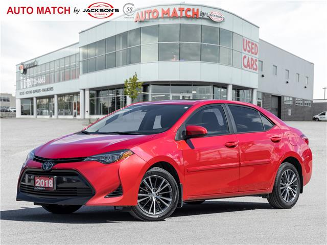 2018 Toyota Corolla LE (Stk: U6923) in Barrie - Image 1 of 21