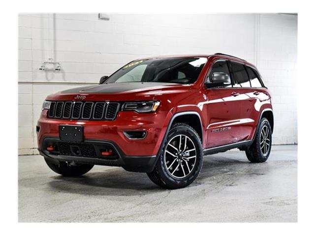 2021 Jeep Grand Cherokee Trailhawk (Stk: 21J063) in Kingston - Image 1 of 30