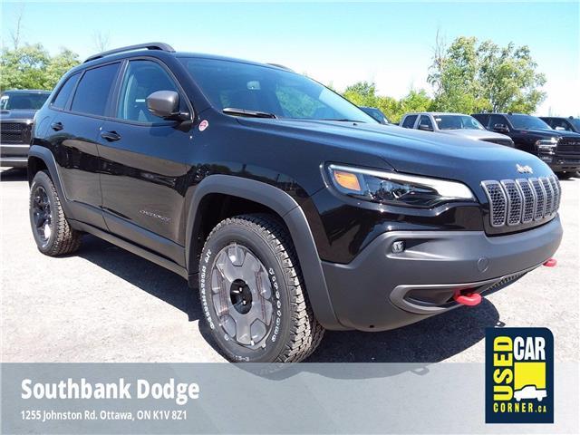 2020 Jeep Cherokee Trailhawk (Stk: D00055) in OTTAWA - Image 1 of 20