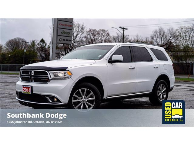 2014 Dodge Durango Limited (Stk: 9228481) in OTTAWA - Image 1 of 28