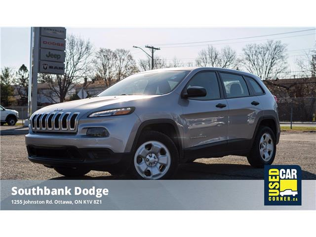 2017 Jeep Cherokee Sport (Stk: 9229271) in OTTAWA - Image 1 of 25