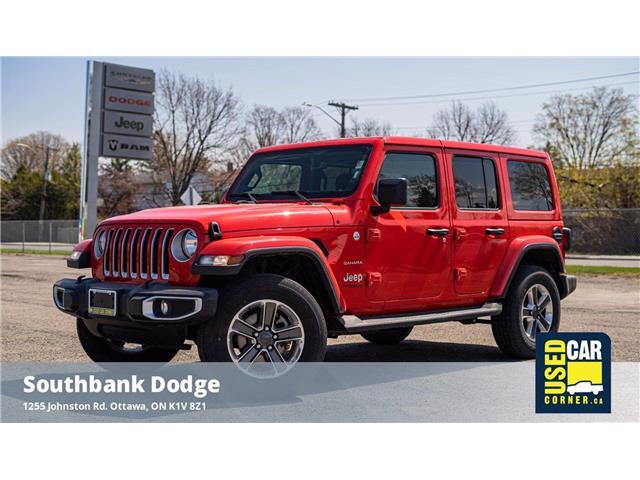 2021 Jeep Wrangler Unlimited Sahara (Stk: 923078) in OTTAWA - Image 1 of 26