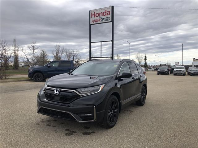 2021 Honda CR-V Black Edition (Stk: H14-9493) in Grande Prairie - Image 1 of 23