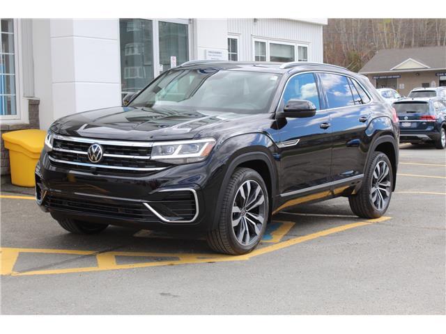 2021 Volkswagen Atlas Cross Sport 3.6 FSI Execline (Stk: 21-124) in Fredericton - Image 1 of 27