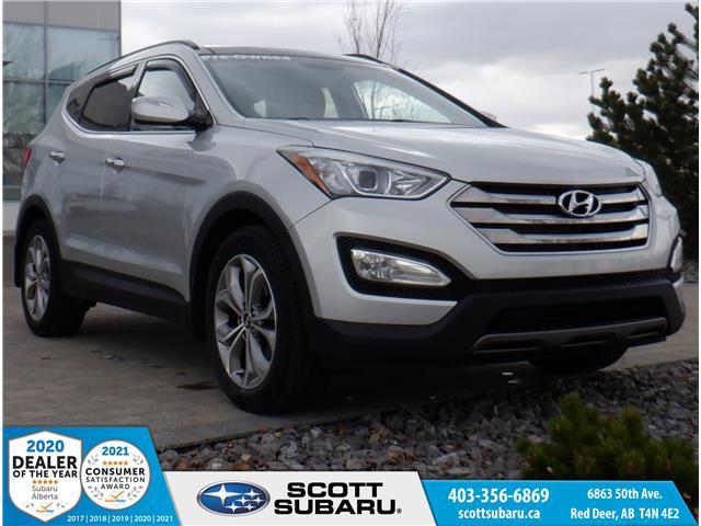 2015 Hyundai Santa Fe Sport 2.0T Limited 5XYZUDLA1FG278478 78478U in Red Deer