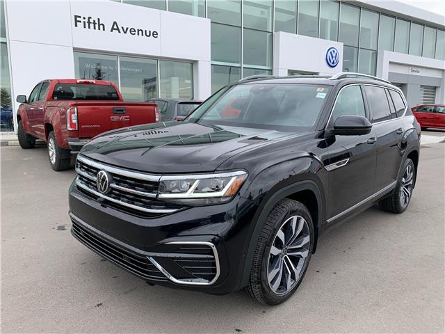 2021 Volkswagen Atlas 3.6 FSI Execline (Stk: 21158) in Calgary - Image 1 of 18