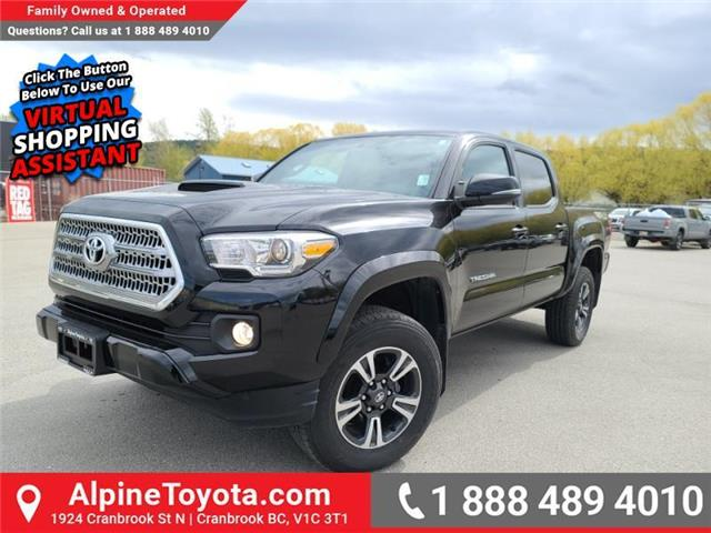 2017 Toyota Tacoma TRD Sport (Stk: X047979M) in Cranbrook - Image 1 of 27