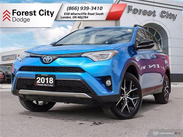 2018 Toyota RAV4 Hybrid SE (Stk: DW0134A) in Sudbury - Image 1 of 32