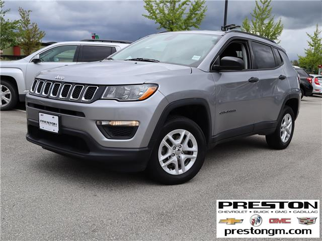2017 Jeep Compass Sport (Stk: 1206541) in Langley City - Image 1 of 28
