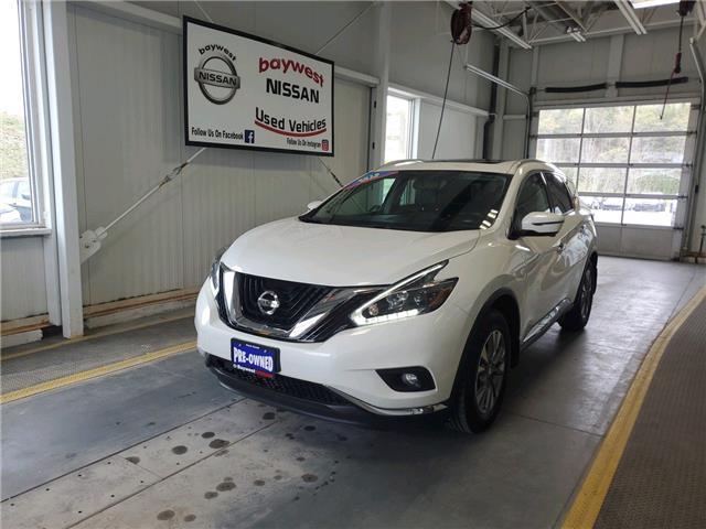 2018 Nissan Murano SL (Stk: P0930) in Owen Sound - Image 1 of 14