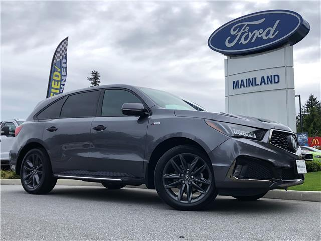 2019 Acura MDX A-Spec (Stk: 21F11496A) in Vancouver - Image 1 of 30