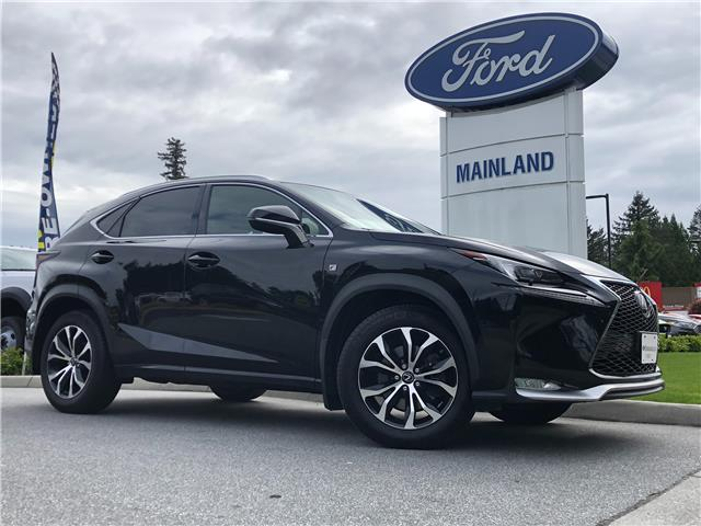 2016 Lexus NX 200t Base (Stk: 21RA6304A) in Vancouver - Image 1 of 30