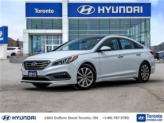 2015 Hyundai Sonata Sport Tech (Stk: U07138) in Toronto - Image 1 of 30