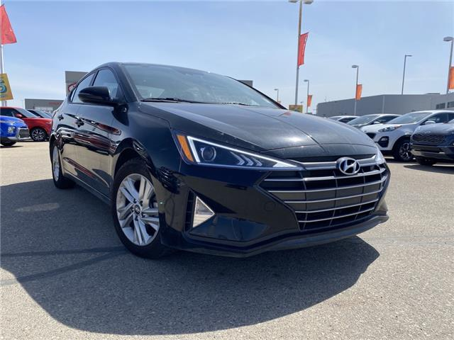 2020 Hyundai Elantra Preferred w/Sun & Safety Package (Stk: P4856) in Saskatoon - Image 1 of 4