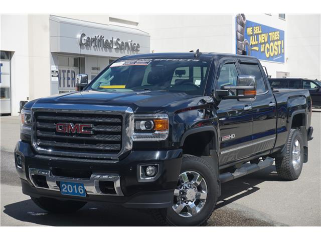 2016 GMC Sierra 3500HD SLT (Stk: P3688) in Salmon Arm - Image 1 of 29