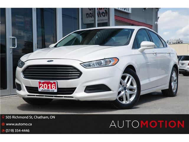 2016 Ford Fusion SE (Stk: 21798) in Chatham - Image 1 of 22