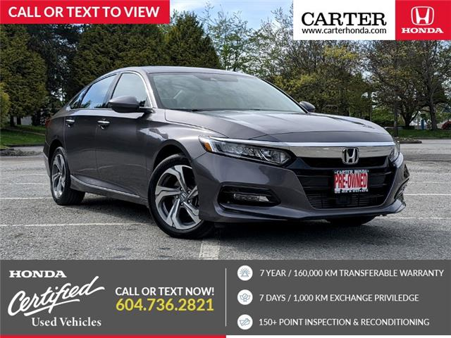 2019 Honda Accord EX-L 1.5T (Stk: 6M10221) in Vancouver - Image 1 of 22