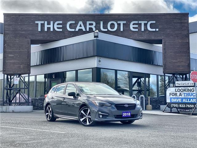 2018 Subaru Impreza Sport-tech (Stk: 21199) in Sudbury - Image 1 of 27