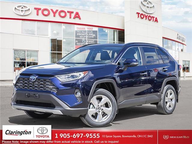 2021 Toyota RAV4 Hybrid Limited (Stk: 21408) in Bowmanville - Image 1 of 10