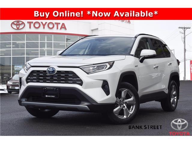 2020 Toyota RAV4 Hybrid Limited (Stk: 19-29119A) in Ottawa - Image 1 of 26