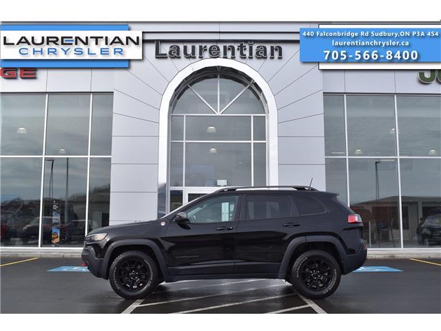 2019 Jeep Cherokee Trailhawk (Stk: 21268A) in Greater Sudbury - Image 1 of 29