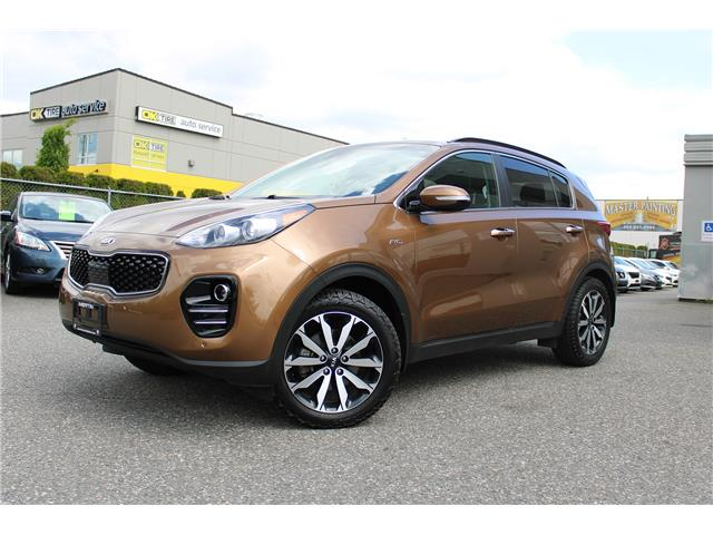 2018 Kia Sportage EX (Stk: K19-8468A) in Chilliwack - Image 1 of 16
