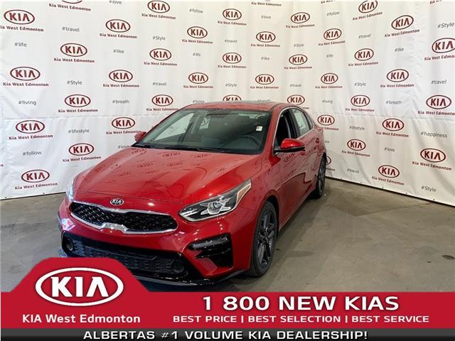 2021 Kia Forte EX+ (Stk: 22862) in Edmonton - Image 1 of 25