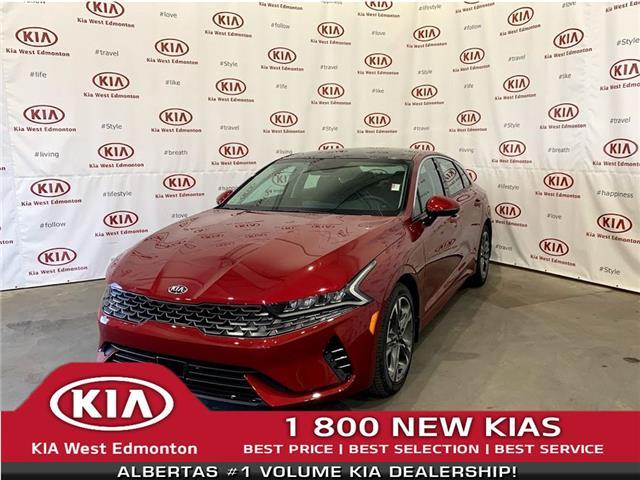 2021 Kia K5 EX (Stk: 23037) in Edmonton - Image 1 of 27