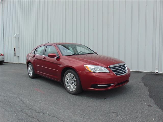 2013 Chrysler 200 LX (Stk: CU61057) in St. John\'s - Image 1 of 19