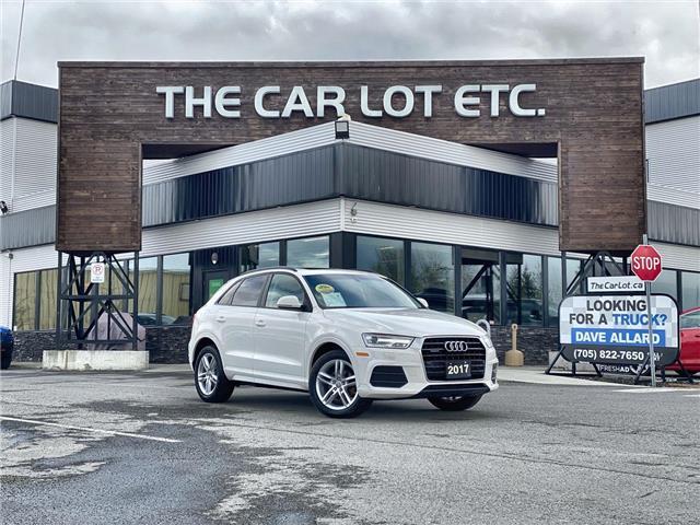 2017 Audi Q3 2.0T Komfort (Stk: 21197) in Sudbury - Image 1 of 24