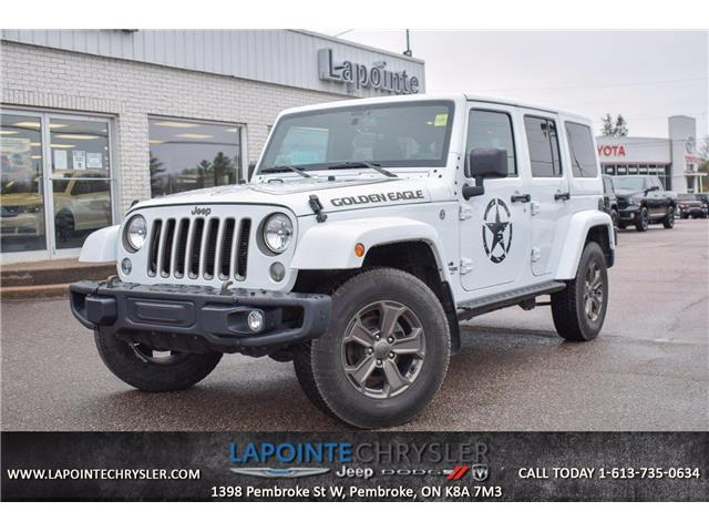 2018 Jeep Wrangler JK Unlimited Sport (Stk: P3681) in Pembroke - Image 1 of 24