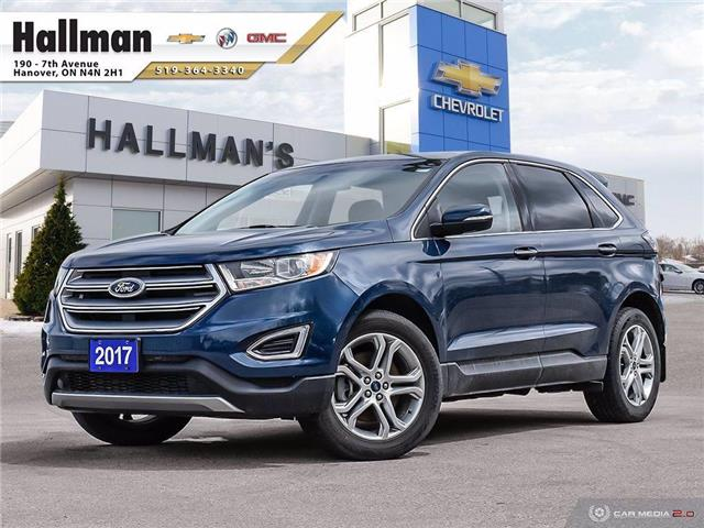 2017 Ford Edge Titanium (Stk: 21295A) in Hanover - Image 1 of 28