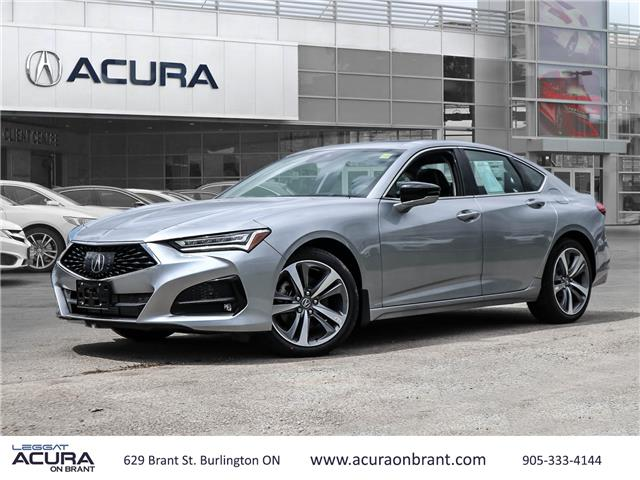 2021 Acura TLX Platinum Elite (Stk: 21104) in Burlington - Image 1 of 30