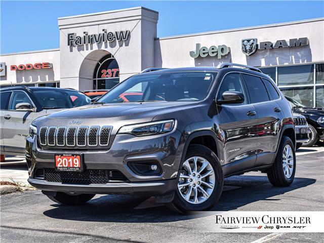 2019 Jeep Cherokee North (Stk: U18608) in Burlington - Image 1 of 28