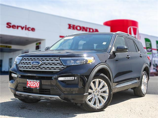 2020 Ford Explorer Limited (Stk: 21-068A) in Vernon - Image 1 of 16