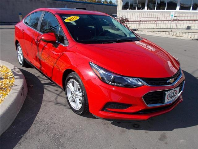 2016 Chevrolet Cruze LT Auto (Stk: A767) in Windsor - Image 1 of 5