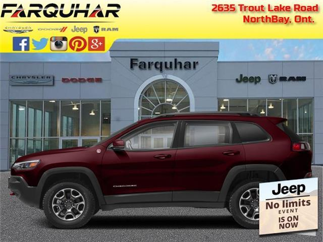 2021 Jeep Cherokee Trailhawk (Stk: 21179) in North Bay - Image 1 of 1