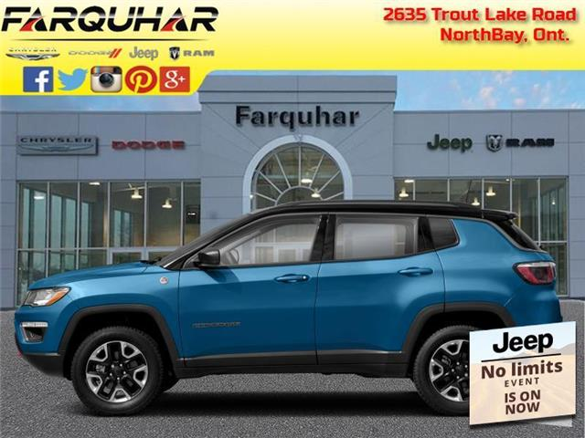 2021 Jeep Compass Trailhawk (Stk: 21098) in North Bay - Image 1 of 1